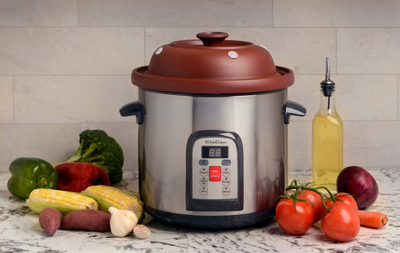 vitaclay slow cooker instructions