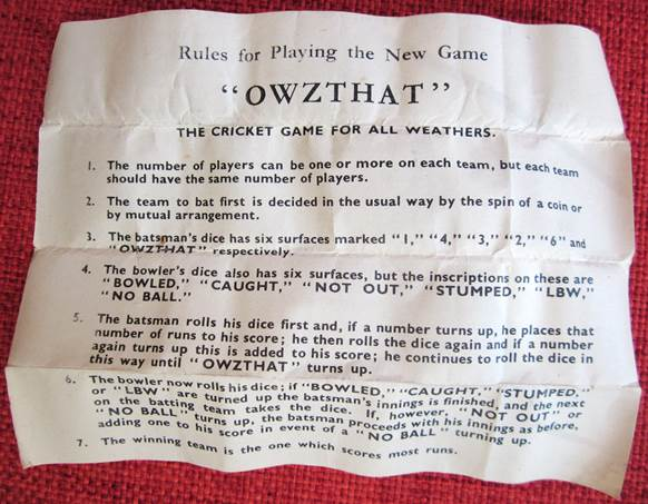 the very quiet cricket game instructions