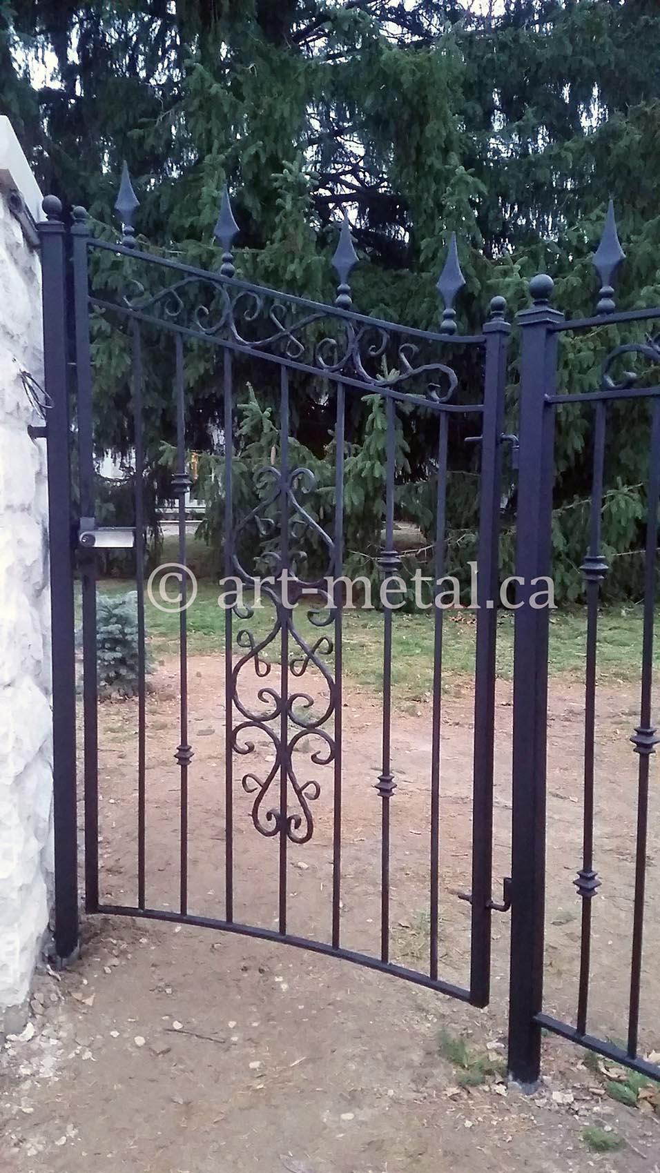 aluminium gate installation instructions