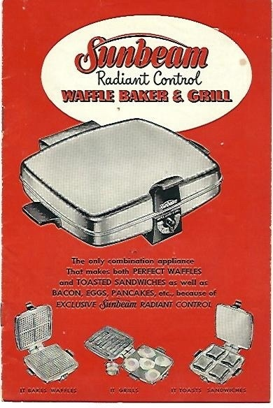 sunbeam waffle baker and grill instructions