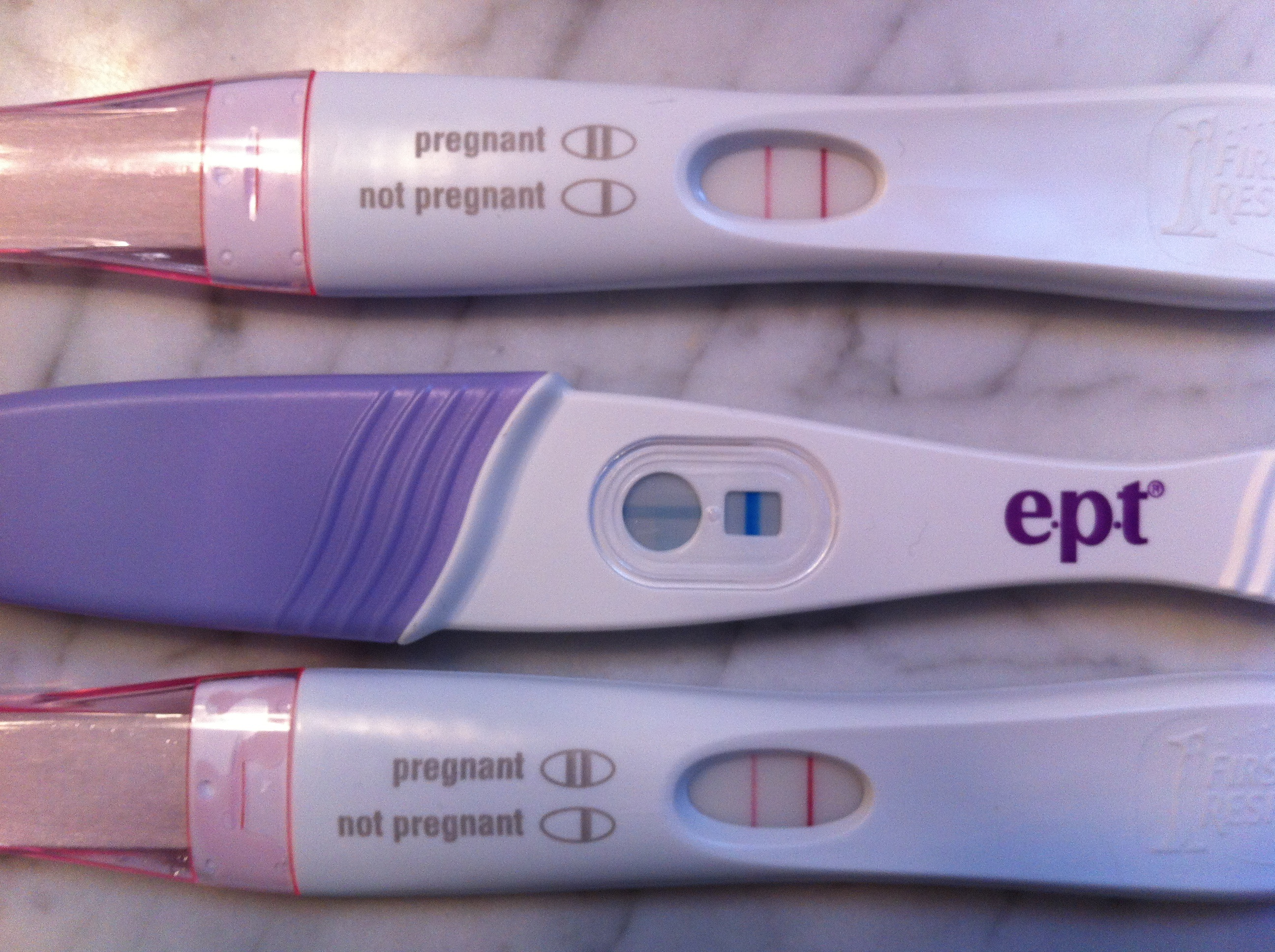pregnancy test instructions ept