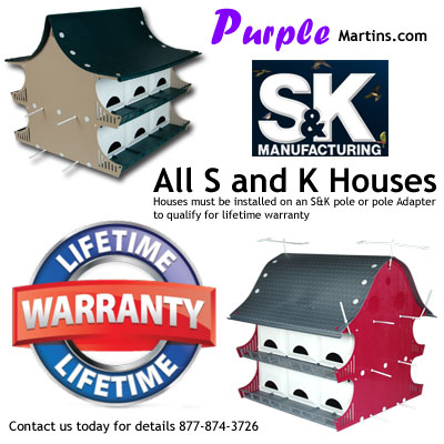 heath purple martin house instructions