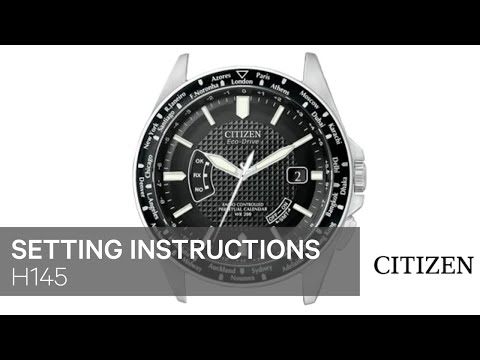 citizen eco-drive skyhawk wr200 instructions