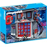 playmobil fire station 5361 instructions