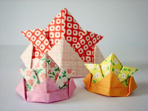 origami samurai hat instructions