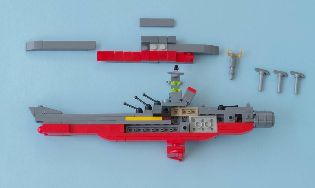 build the yamato instructions