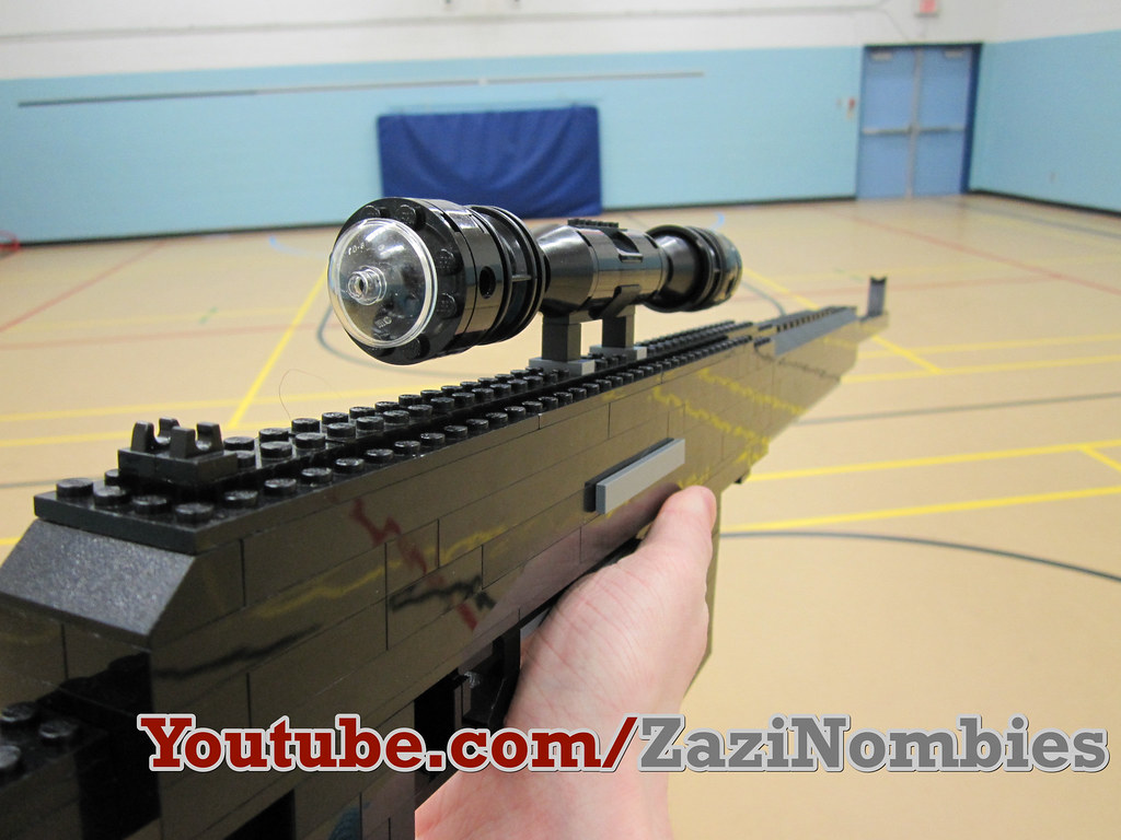 zazinombies lego guns instructions