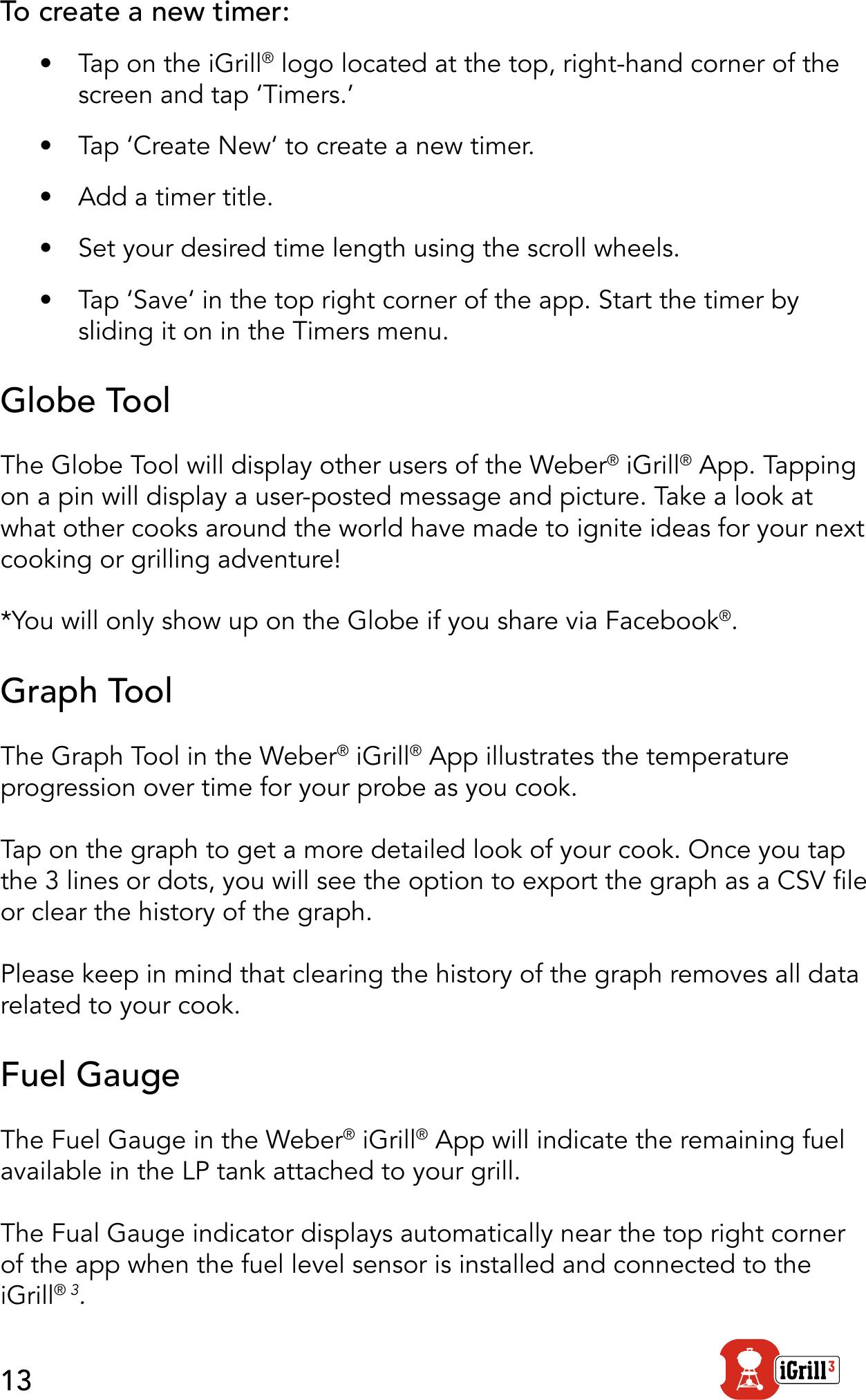 weber igrill app instructions