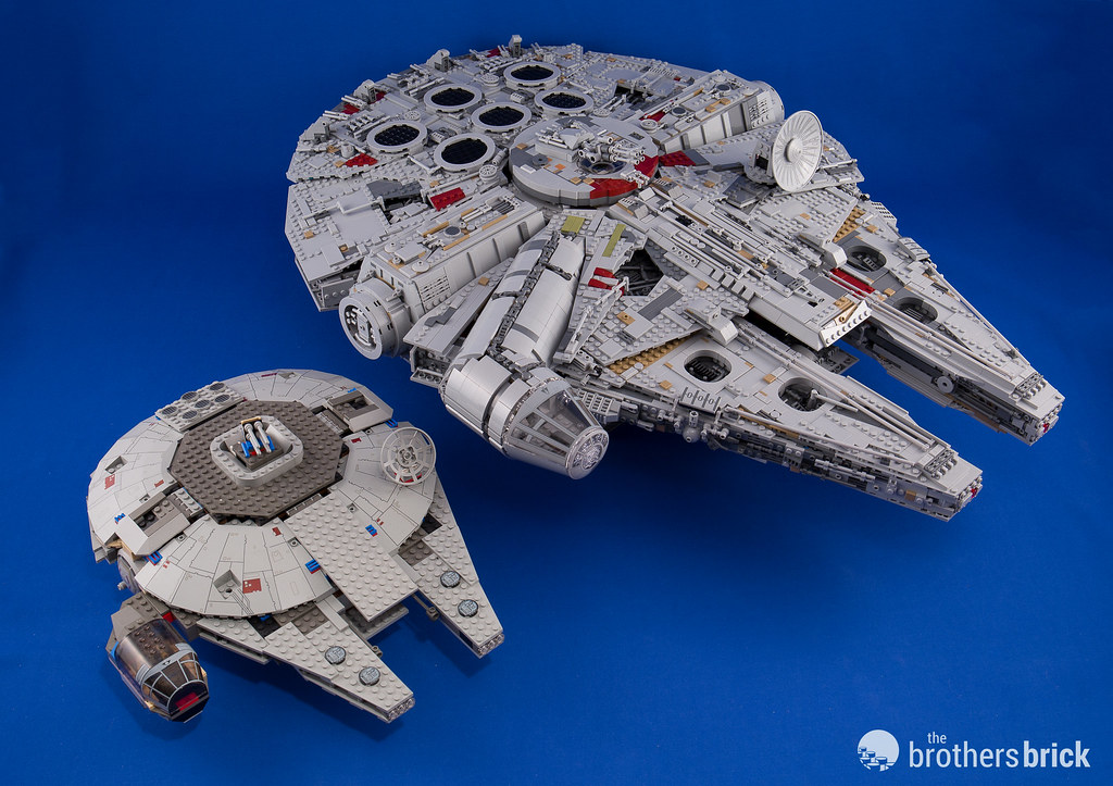 lego ucs millennium falcon 2017 instructions