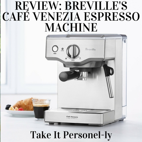 breville cafe venezia espresso machine instructions