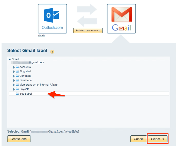 gmail outlook sync instructions