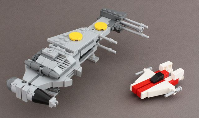 lego moc instructions star wars