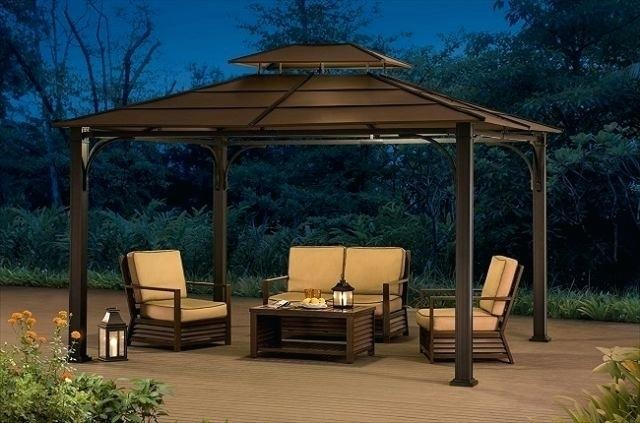 sunjoy grill gazebo instructions