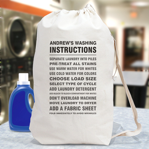 wet bag washing instructions
