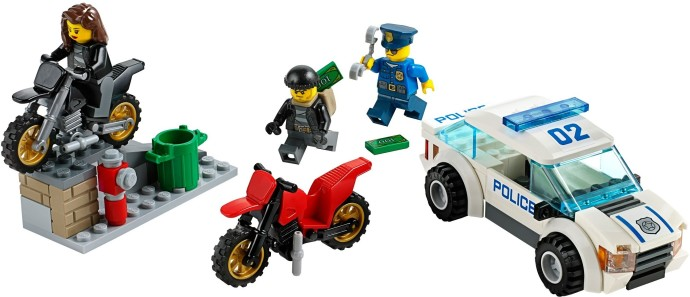 lego city police transporter 60043 instructions