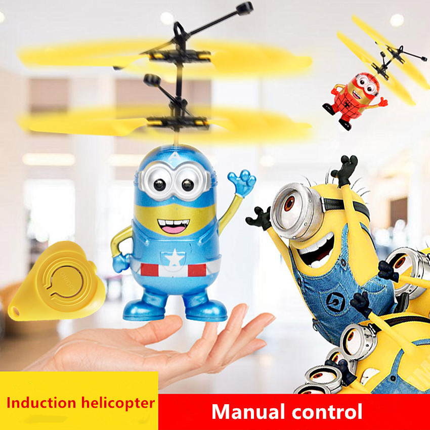 flying minion toy instructions