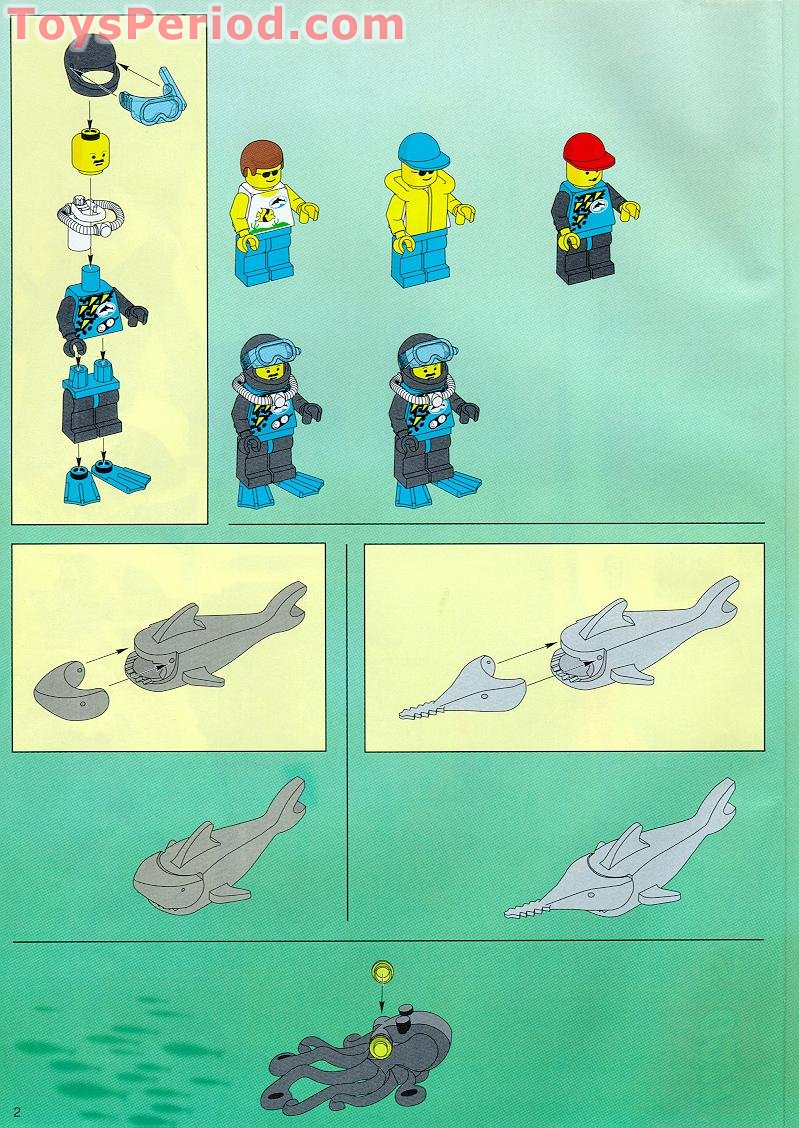 lego deep sea instructions