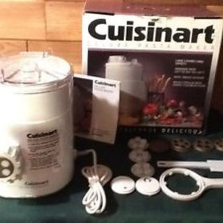 cuisinart deluxe pasta maker instructions