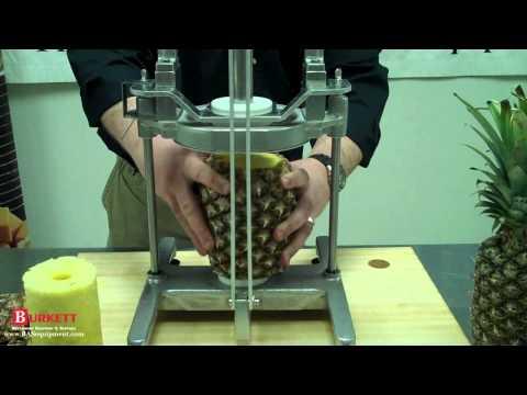 vacu vin pineapple slicer instructions