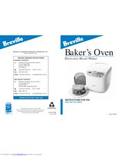 breville bread master excel instruction booklet