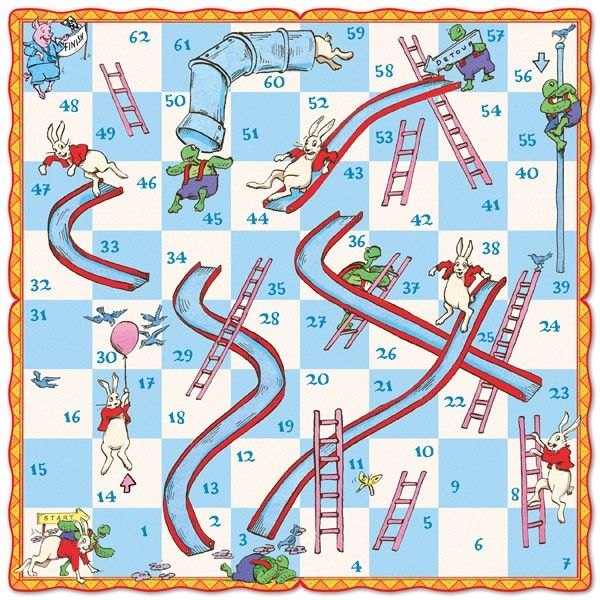 how to play snakes and ladders instructions for children