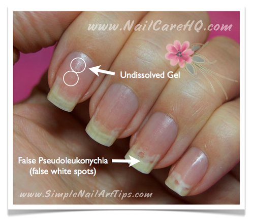 acetone nail remover instructions