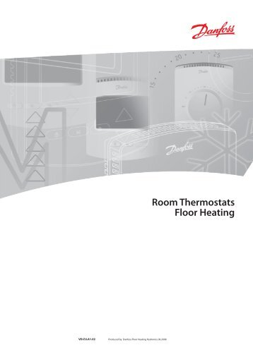 danfoss wireless room thermostat instructions