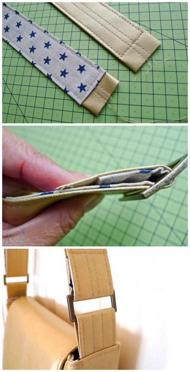 adjustable purse strap instructions