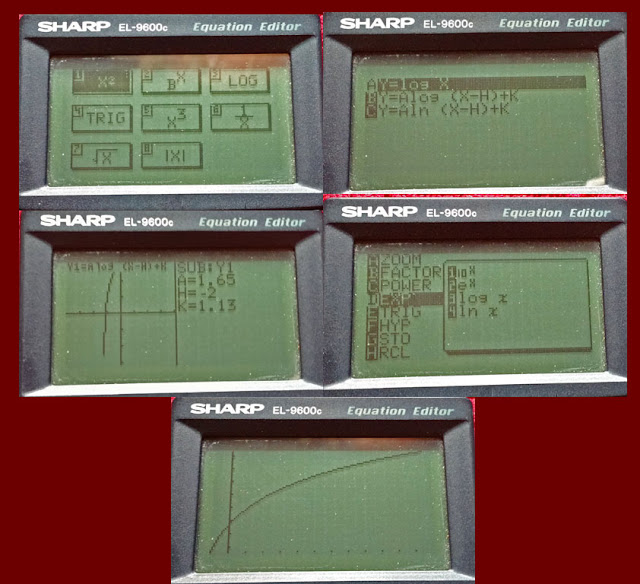 sharp el-9600 instruction manual