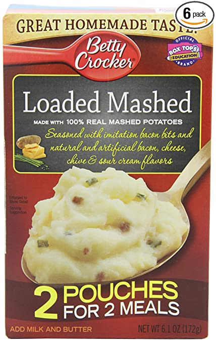 betty crocker instant mashed potatoes instructions