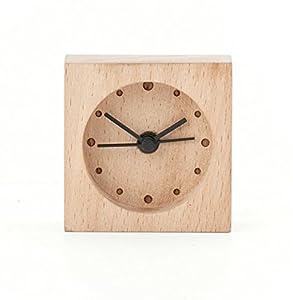 ginkgo wood alarm clock instructions