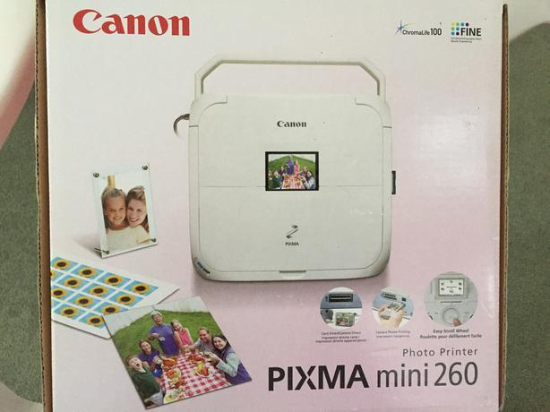 canon pixma mini 260 instructions
