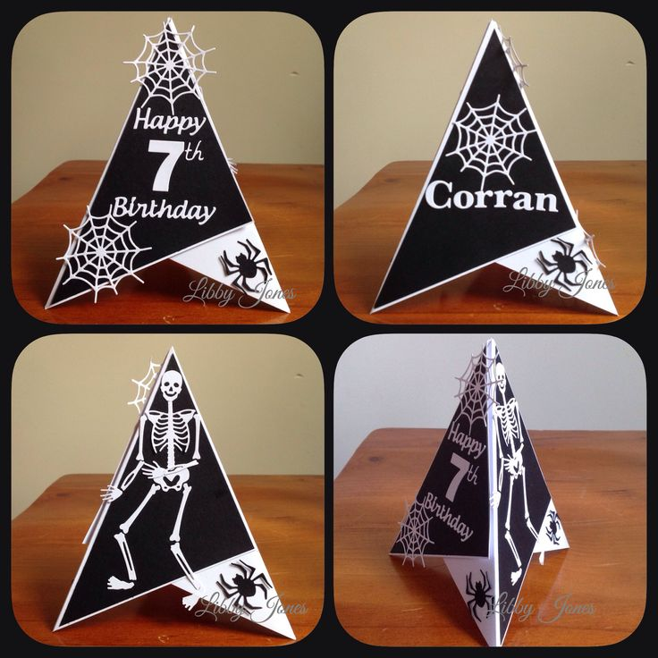 christmas teepee card instructions