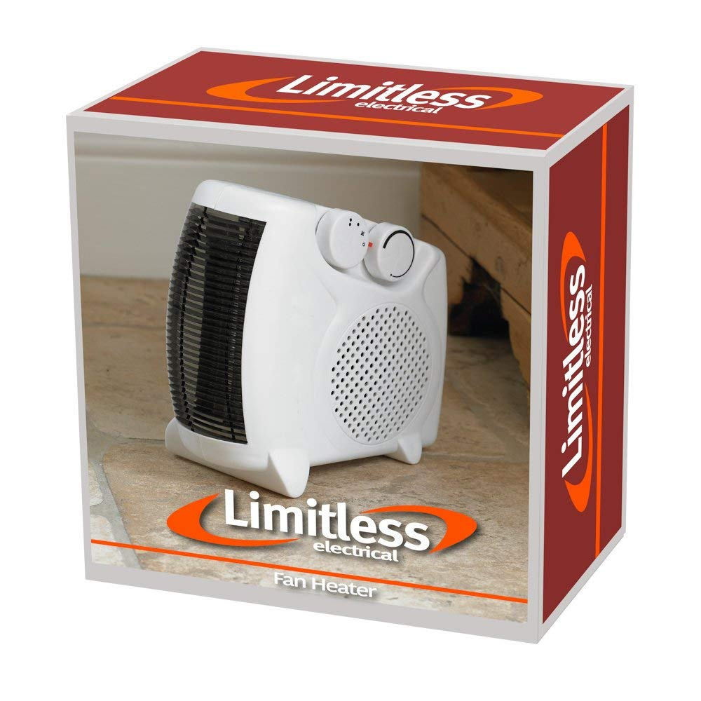 compact fan heater instructions