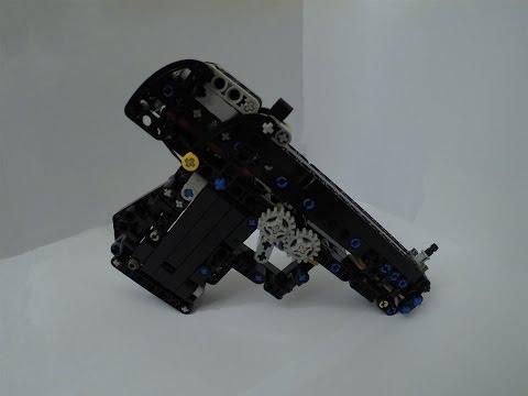 lego gun mechanism instructions