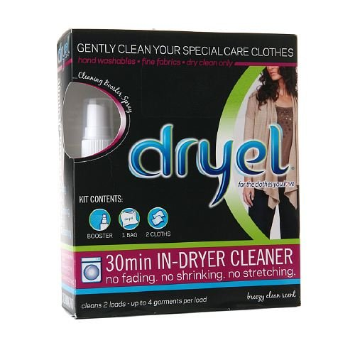 dryel home dry cleaning instructions