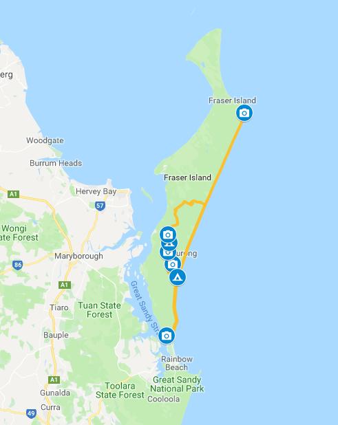 google maps driving instructions australia