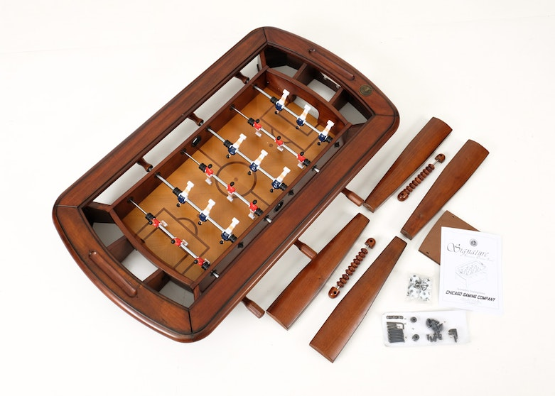 easton foosball table assembly instructions