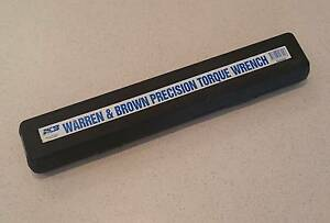 warren and brown torque wrench instructions