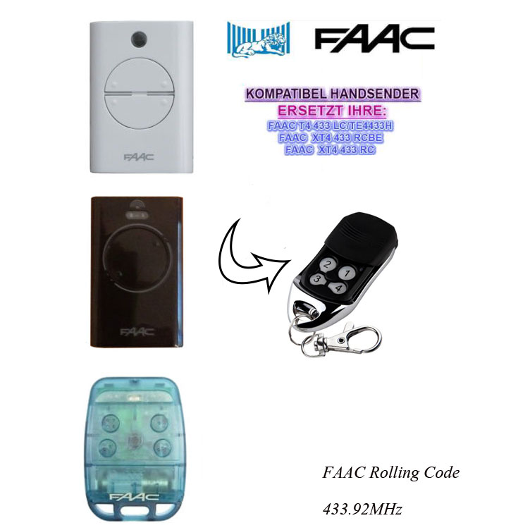 faac remote programming instructions 787452