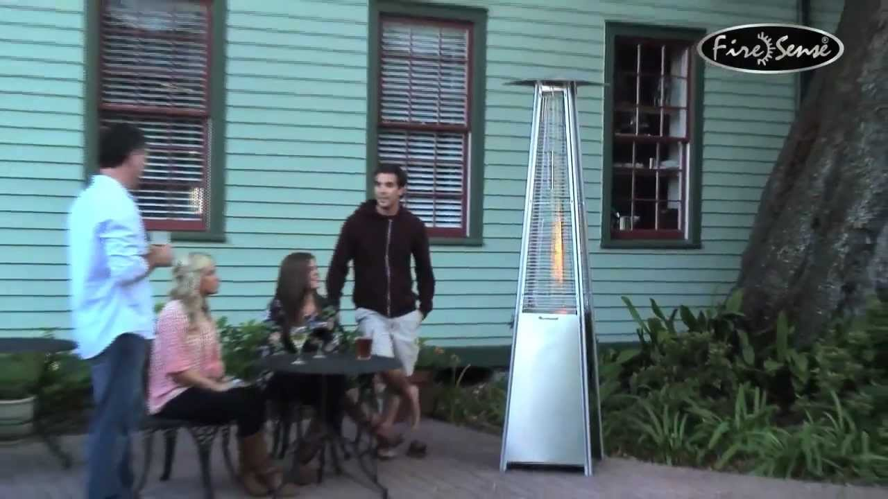 instructions for outdoor stainless steel patio heater