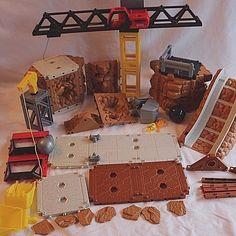 imaginext rumblin rocks construction site instructions