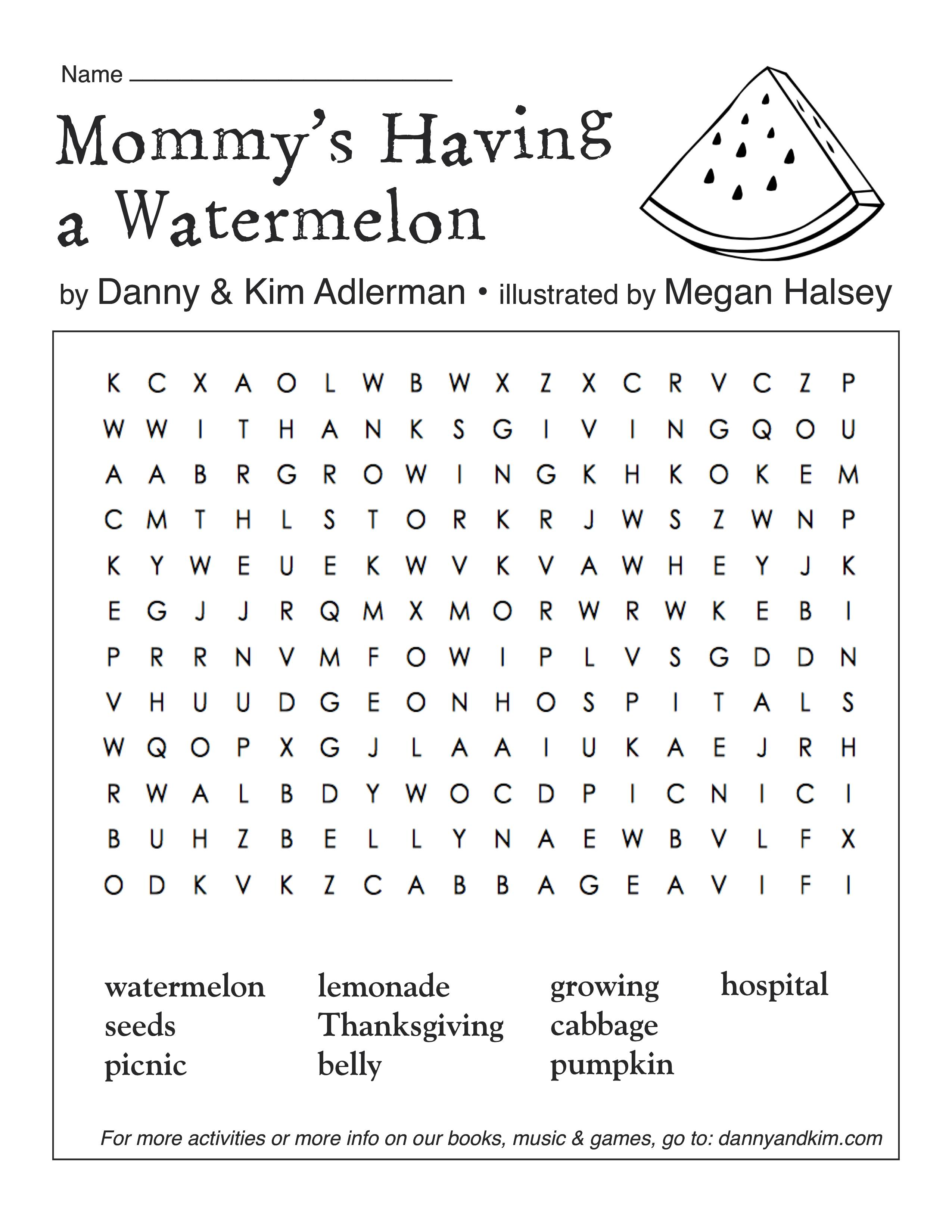 instructions for the watermelon challenge