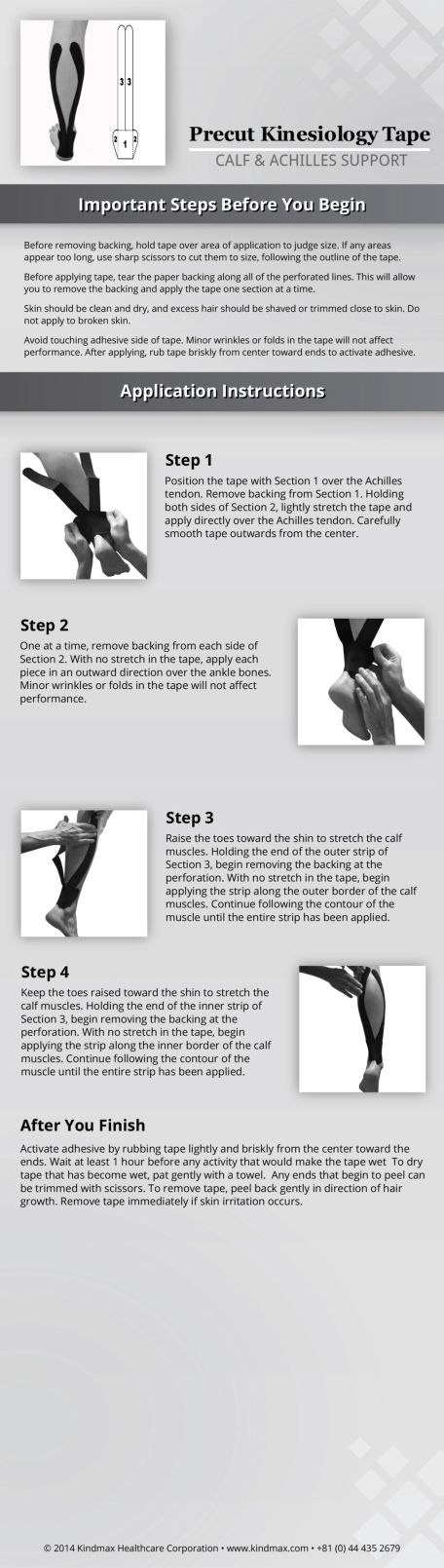 kt tape instructions hip