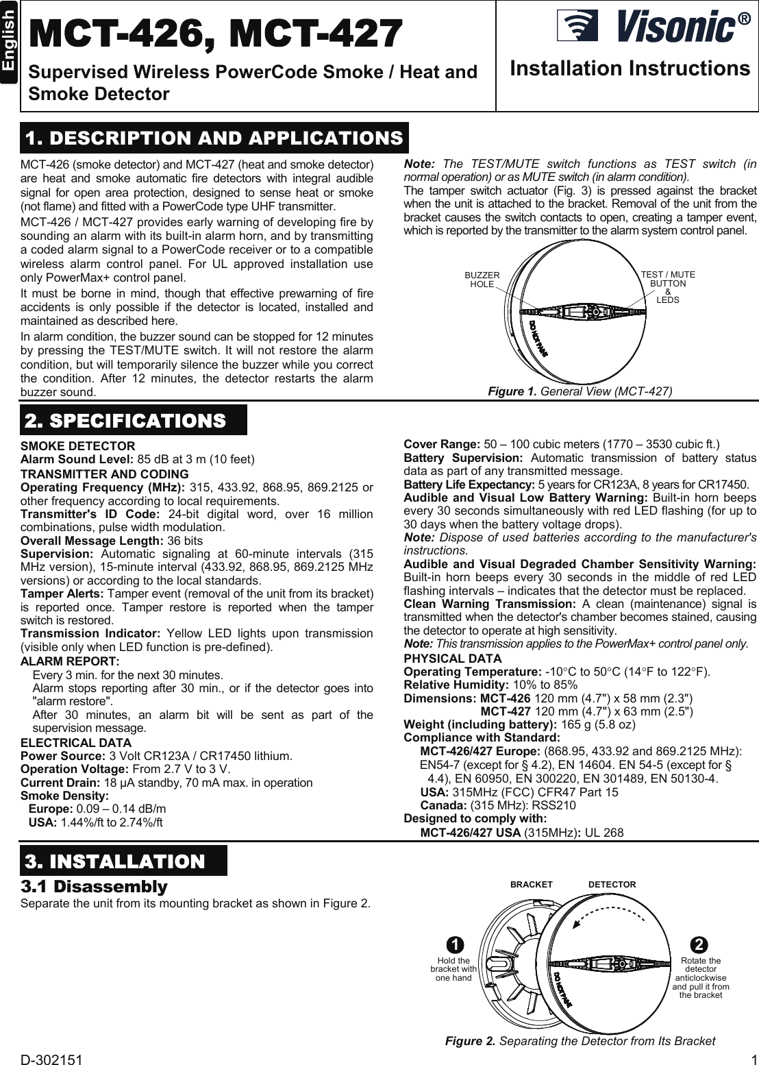 lanson smoke detector instructions