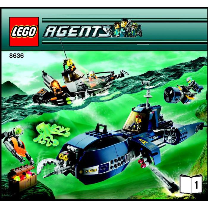 lego deep sea instructions