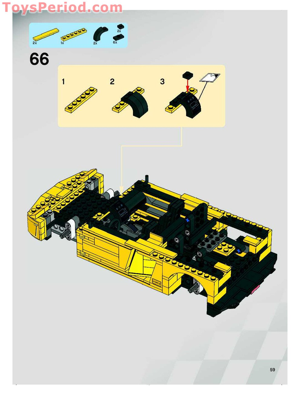 lego lamborghini 8169 instructions