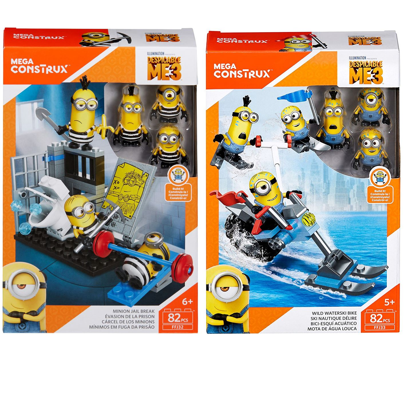 mega construx minions instructions