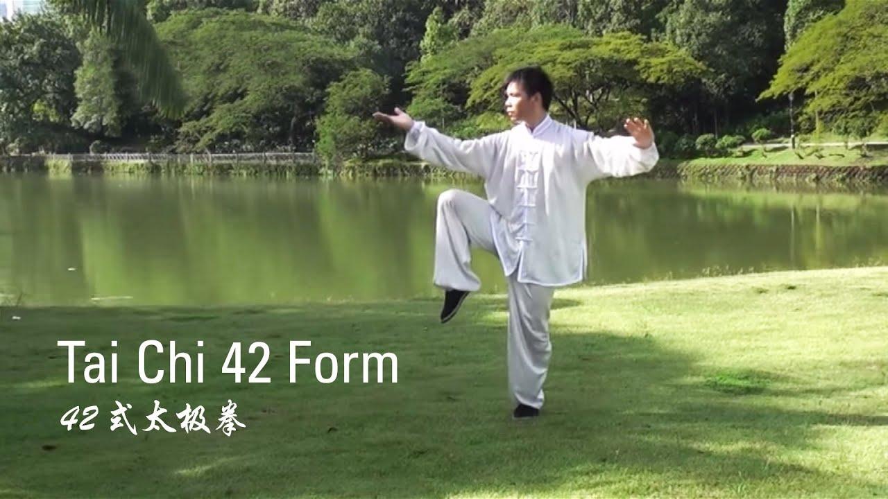 tai chi 42 instruction