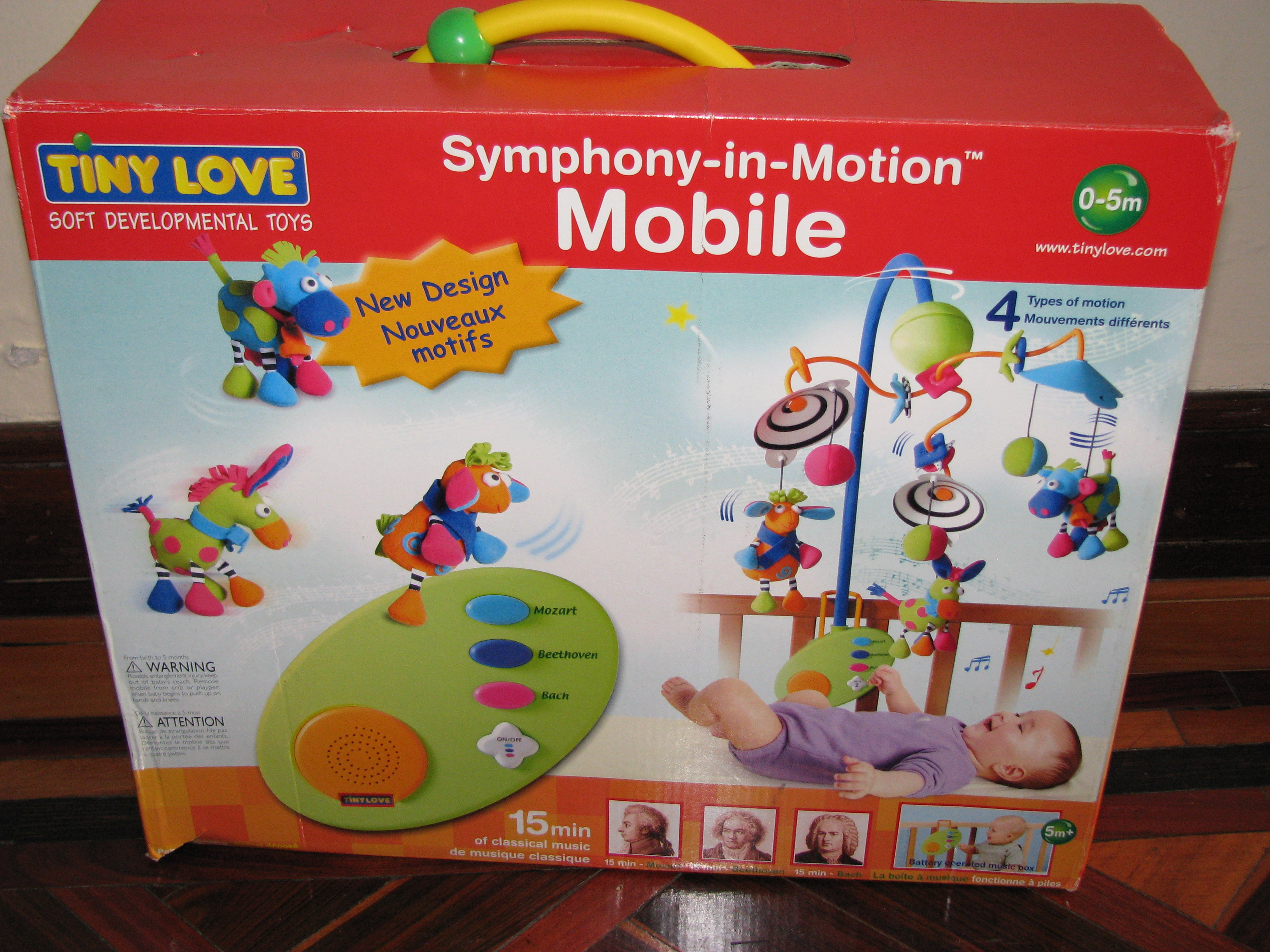 tiny love symphony in motion mobile assembly instructions